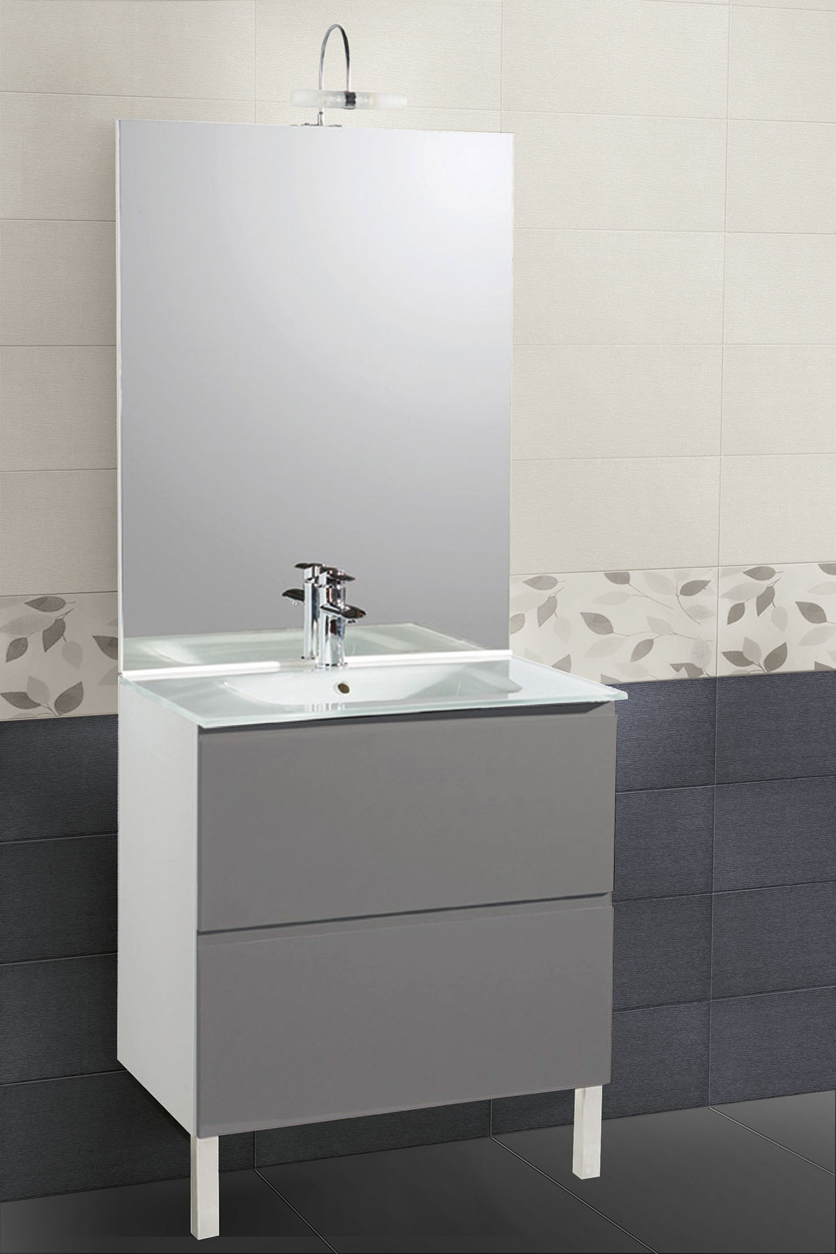 Wall tree: colour effect wall tile line with a wide range of sizes ...