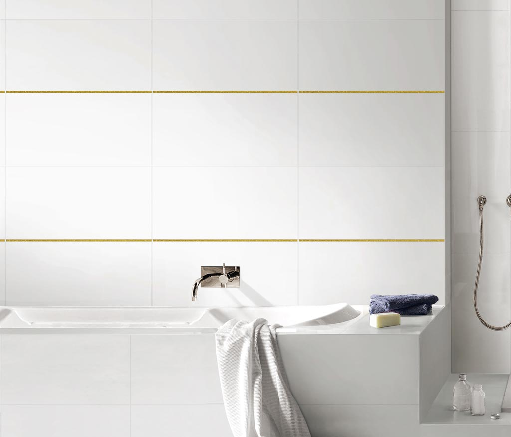 Wall: colour effect wall tile line with a wide range of sizes and ...